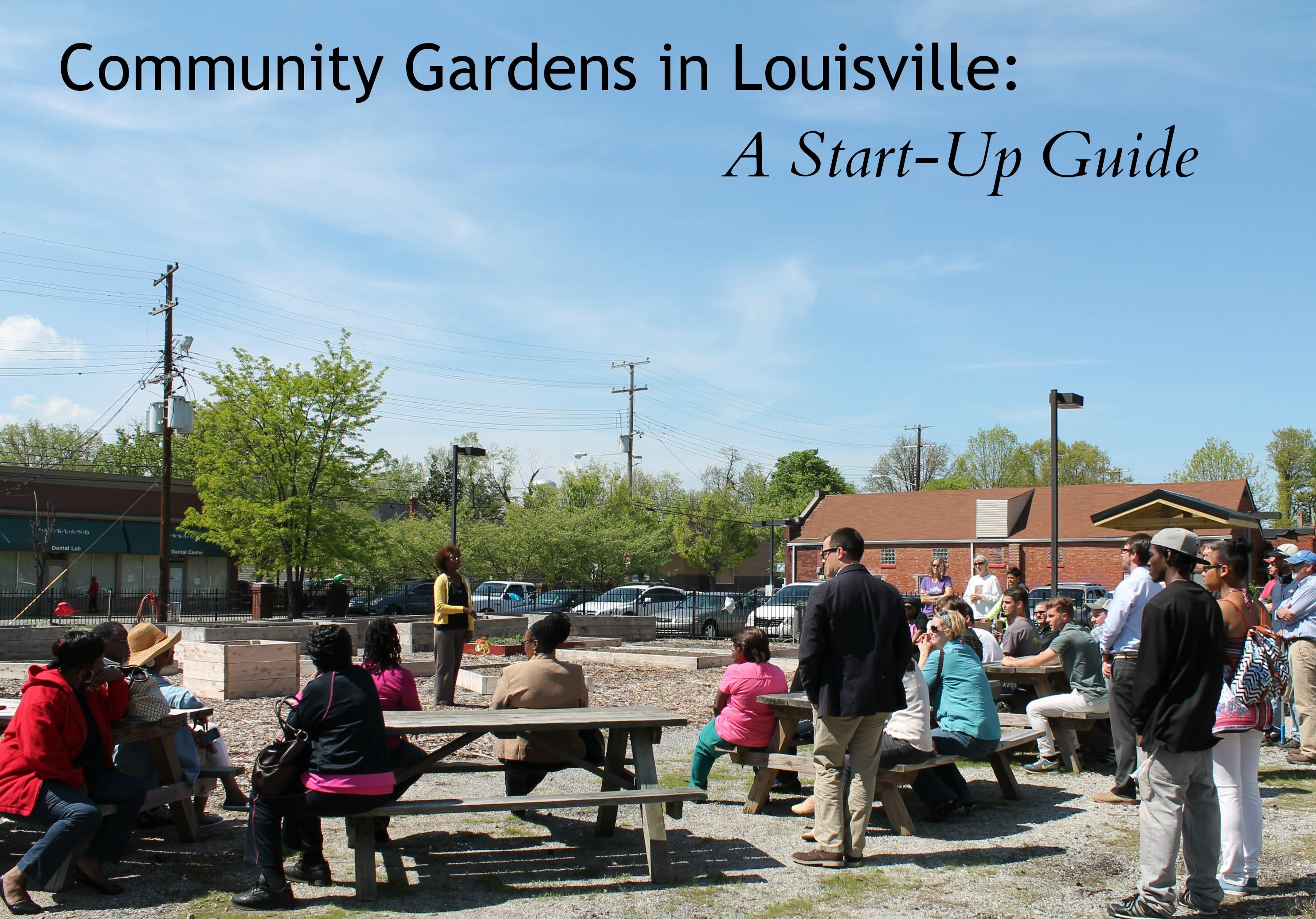 Picture of Community Garden meeting